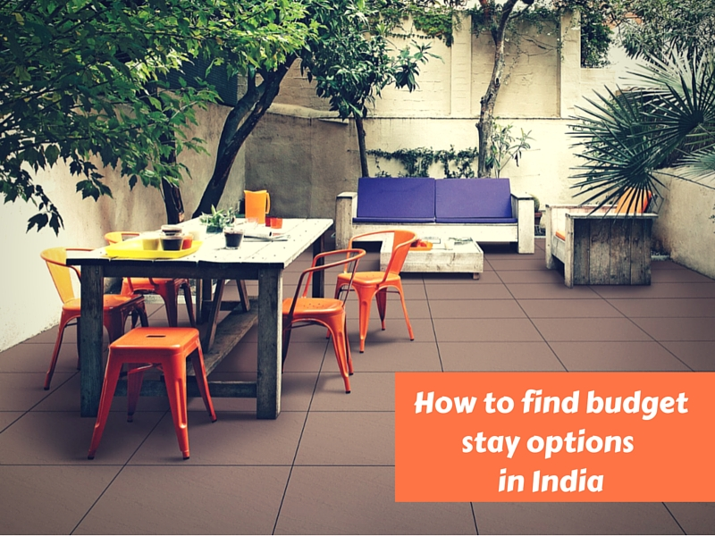 Cheap accommodation options in India