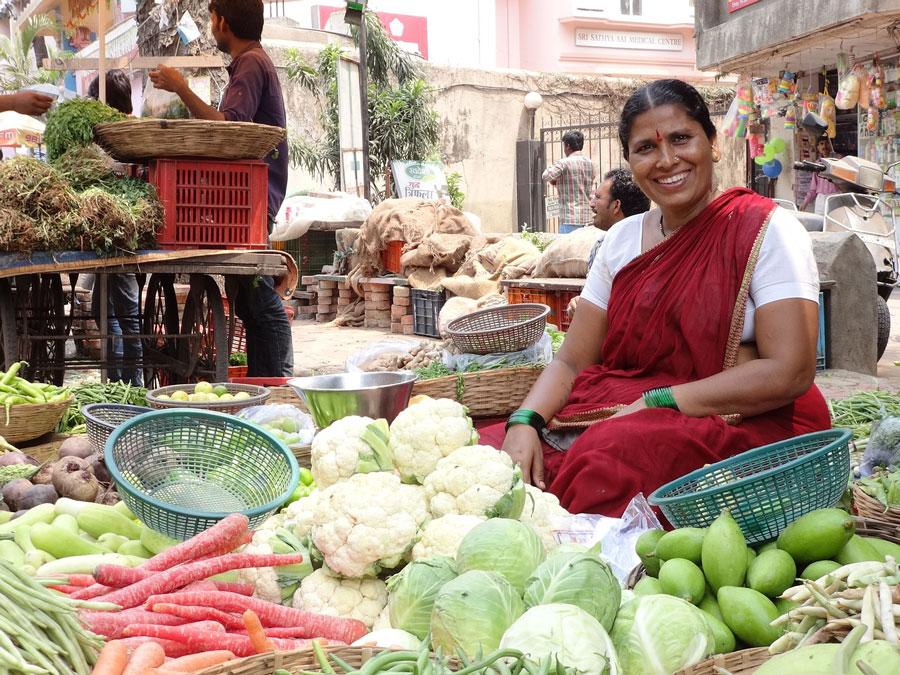 Local market India