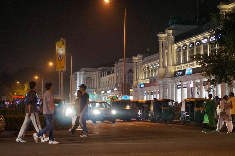 Night Delhi