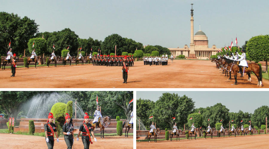 Change of guard Delhi