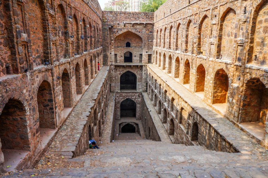 Delhi Offbeat step well