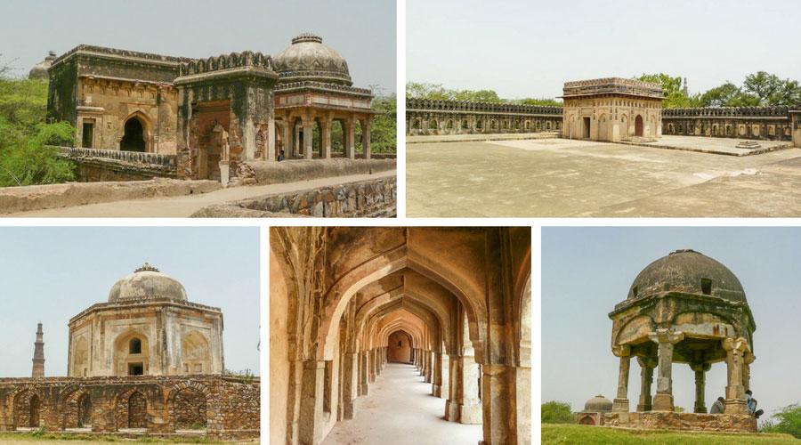 Mehrauli park Delhi
