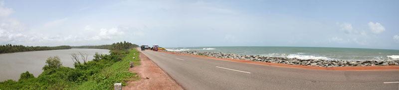 Saurpanika_river_Arabian_Sea_Kundapur