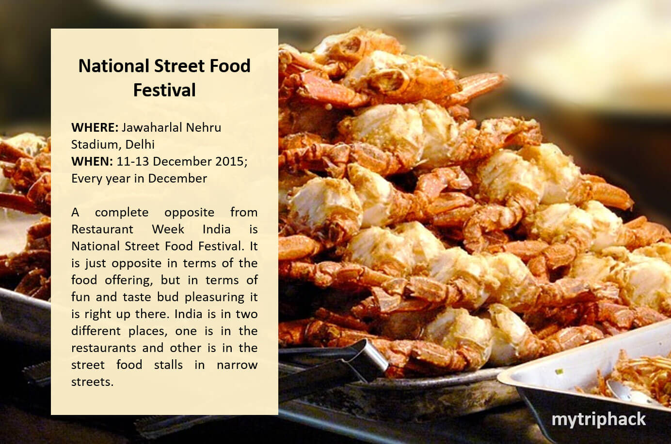 Famous Food Festivals In India You Shouldnt Miss - 12 over the top stadium foods to try this year
