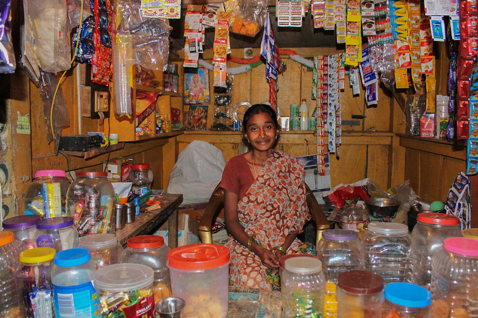 Indian local stall