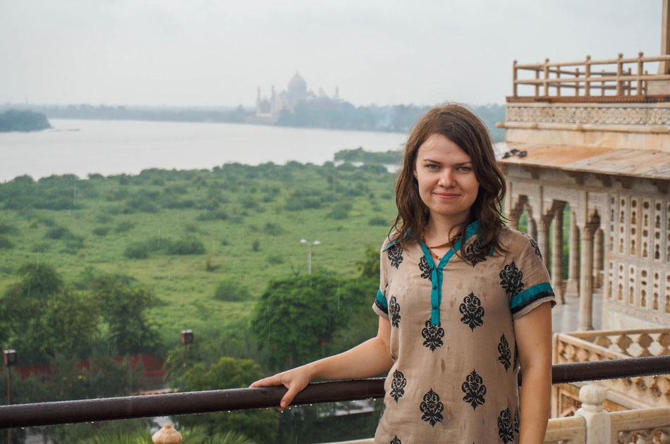 Taj Mahal in monsoons