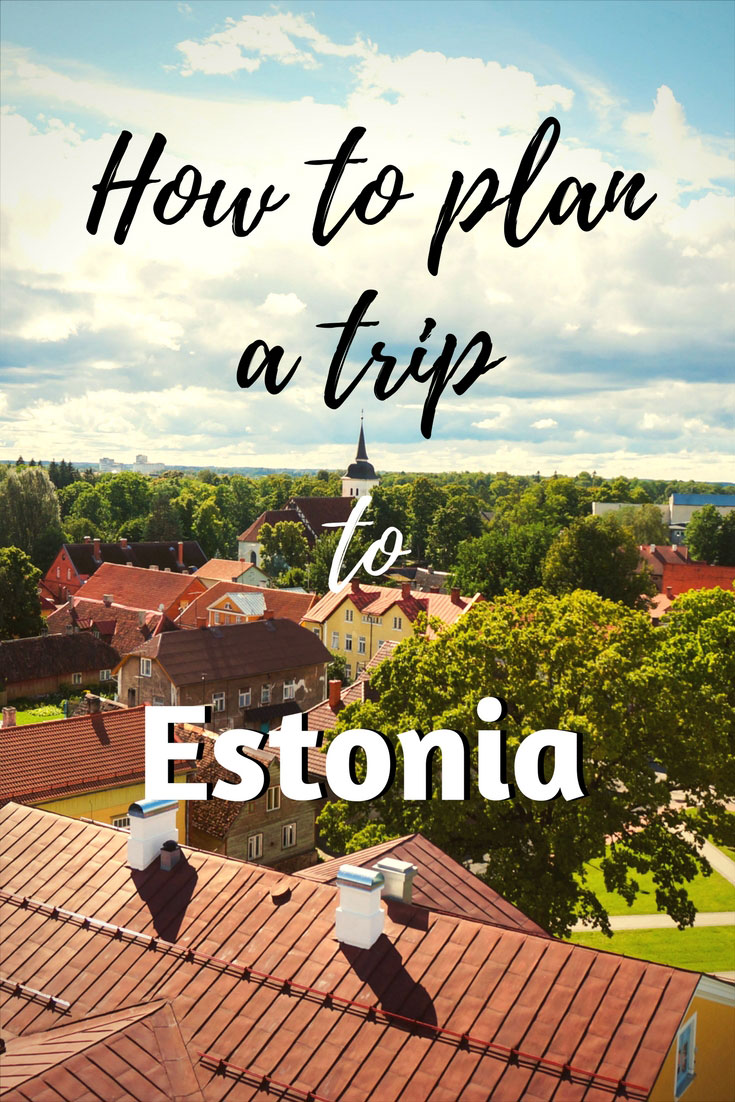 Estonia trip pin