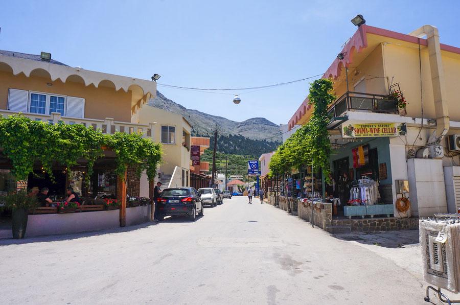 Embonas village Rhodes