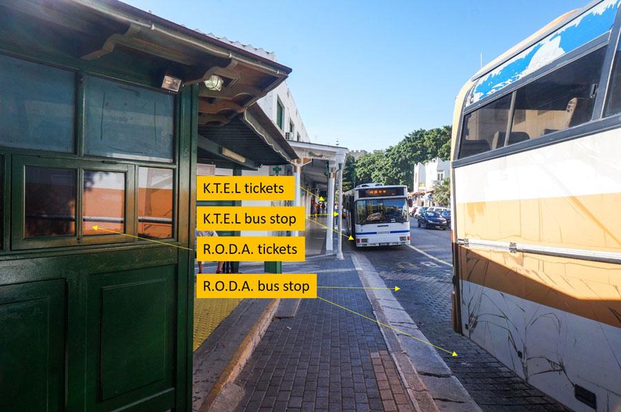 Rhodes bus station