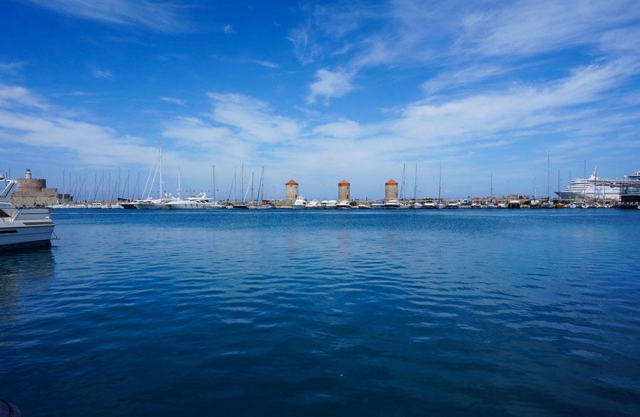 Rhodes sea port