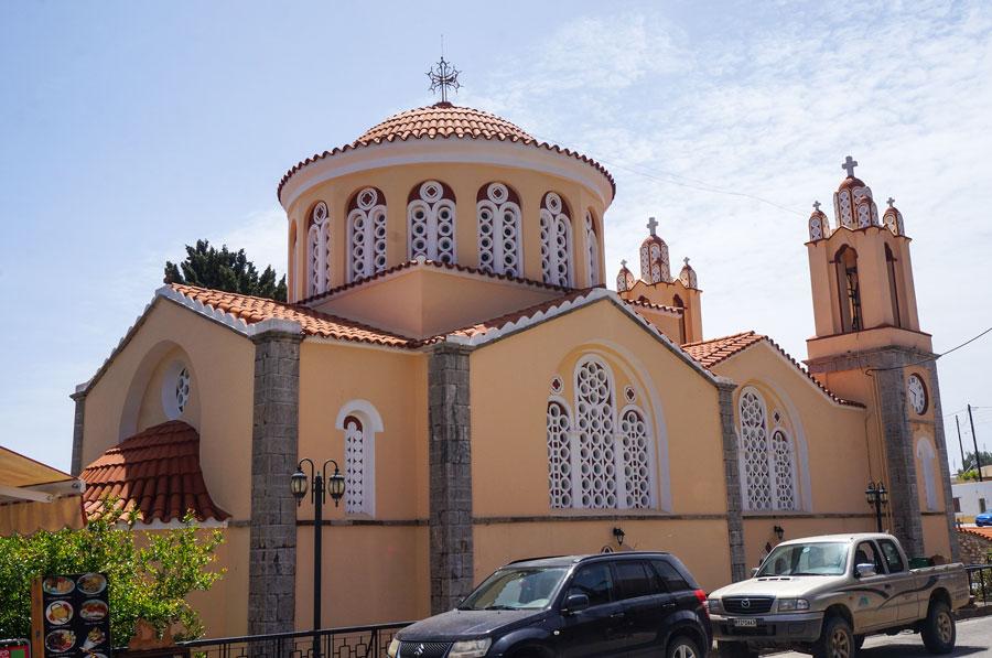 Siana church Rhodes