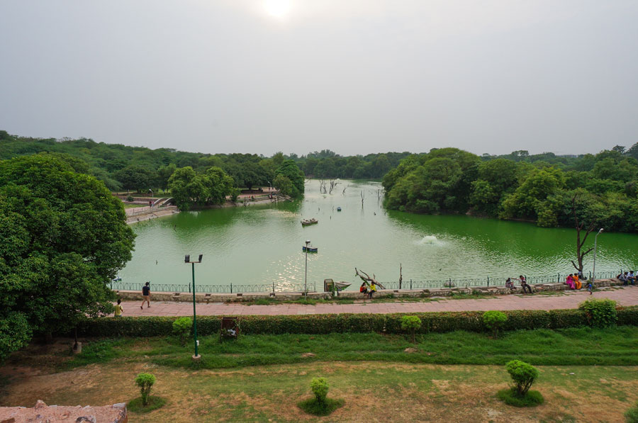 Hauz Khas Lake