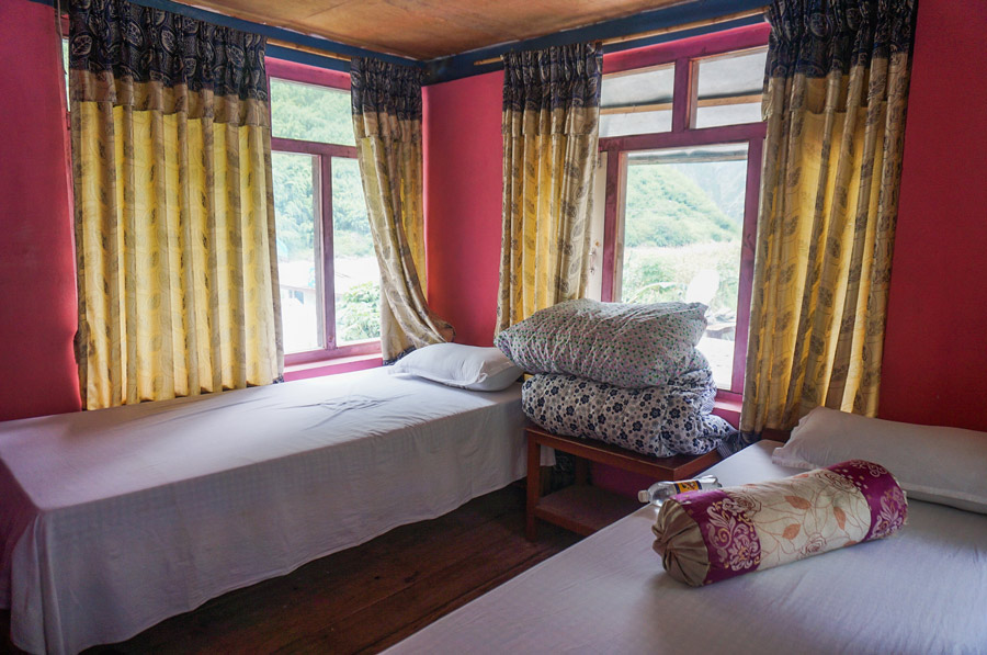 Annapurna circuit accommodation