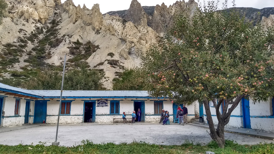 School in Himalayas