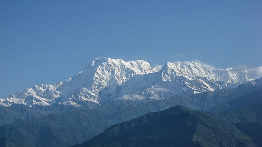 Sarangkot mountains view