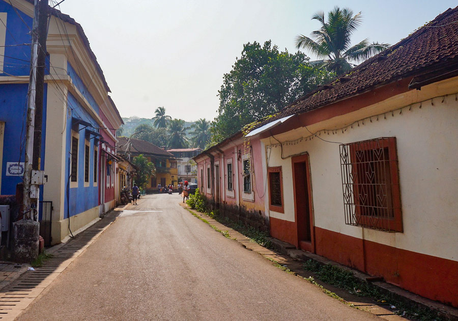 Fontainhas street
