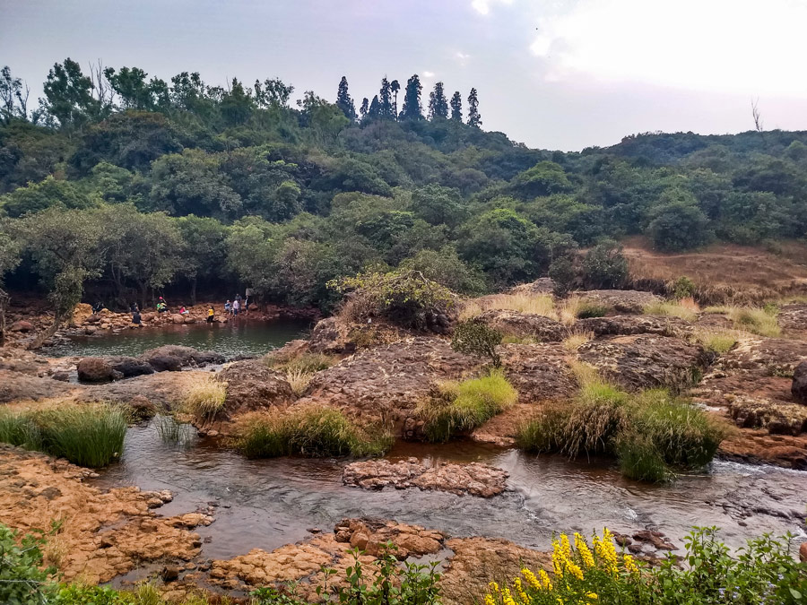 Way to Lingmala waterfalls