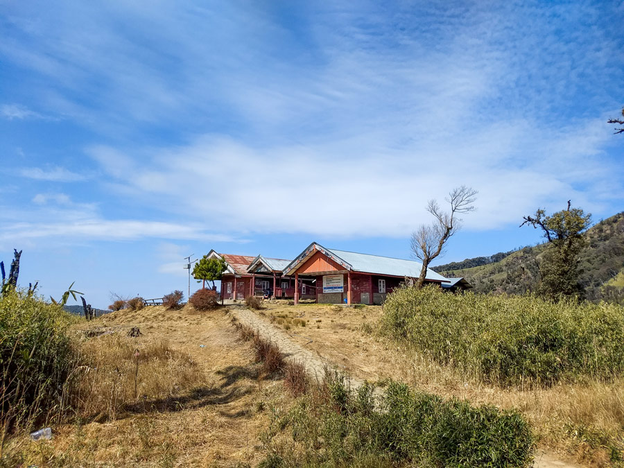 Dzukou Valley guesthouse