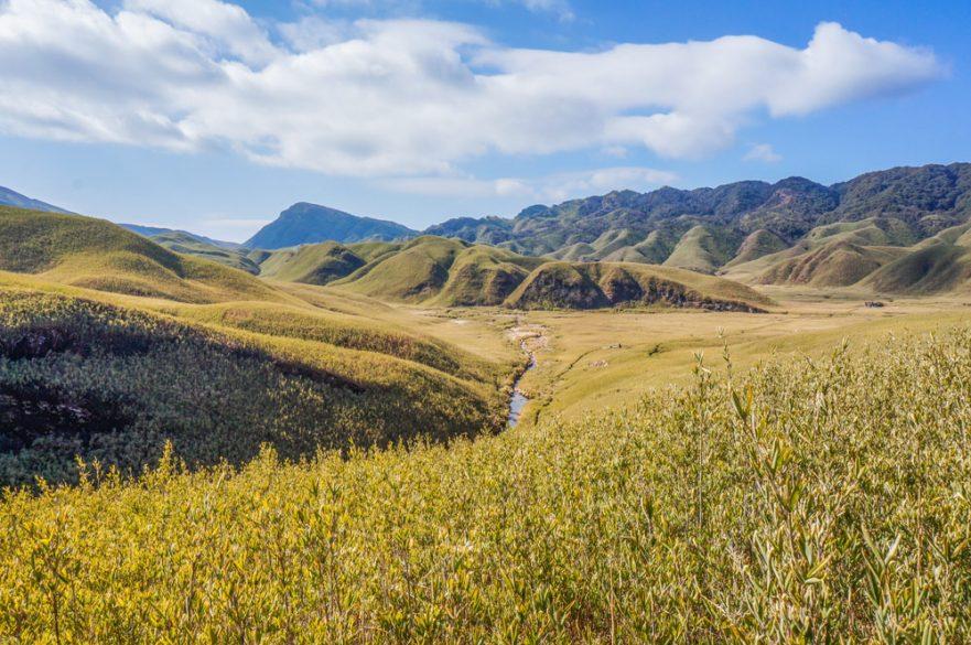 Dzukou valley view