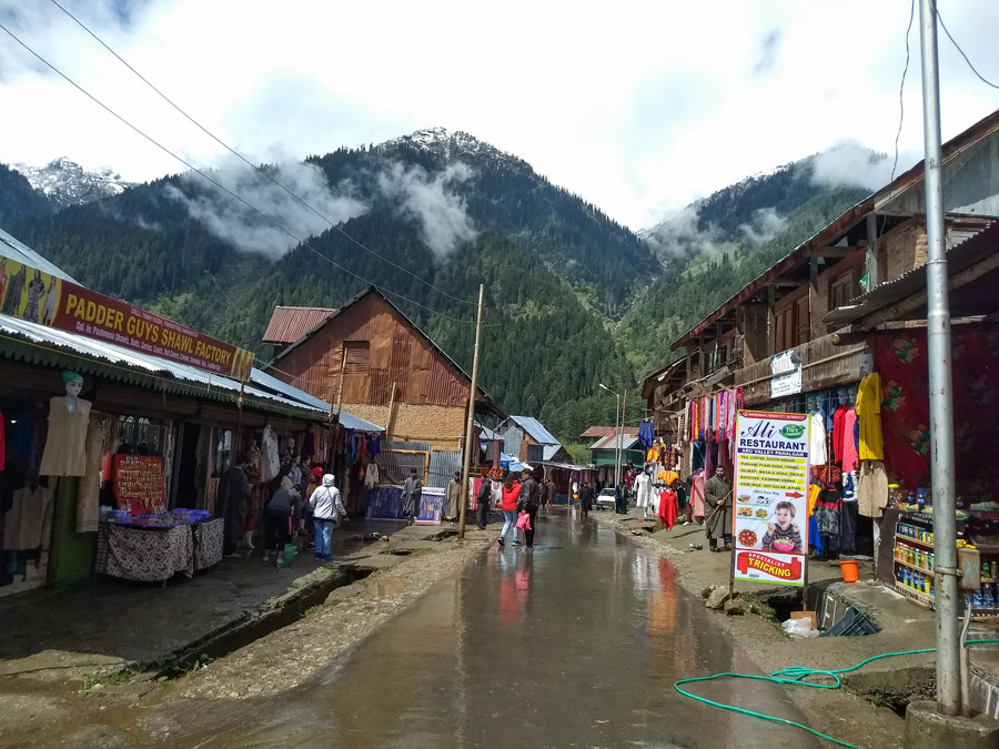 Aru village street