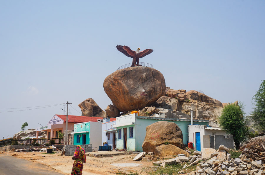 Lepakshi bird