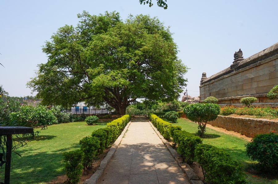 Lepakshi temple garden