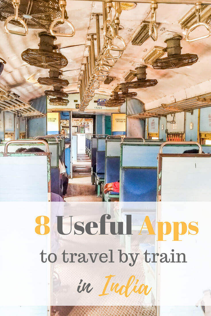 Train apps in India for traveling