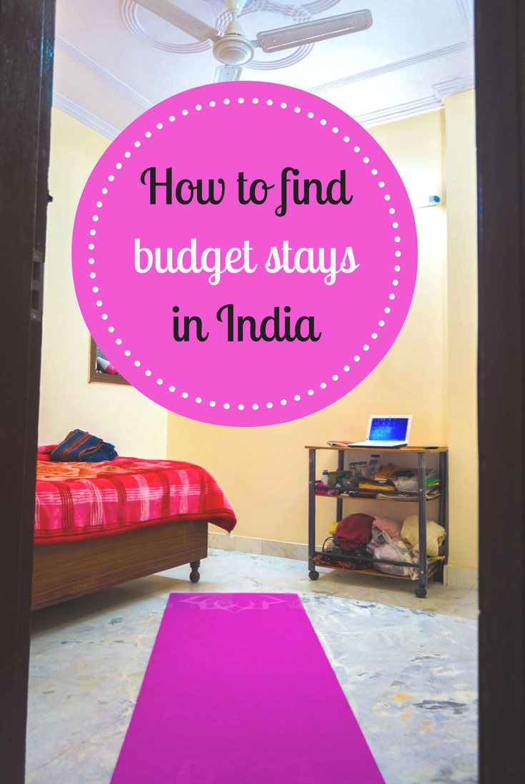 budget accommodation in India pin