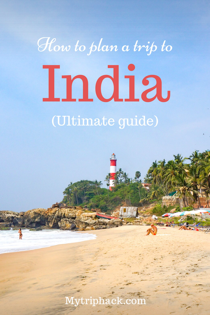 How to plan a trip to India: ultimate guide. Places to visit in India, costs of travel, accommodation, food, culture, safety, health, what to pack and other useful information. #India #travel
