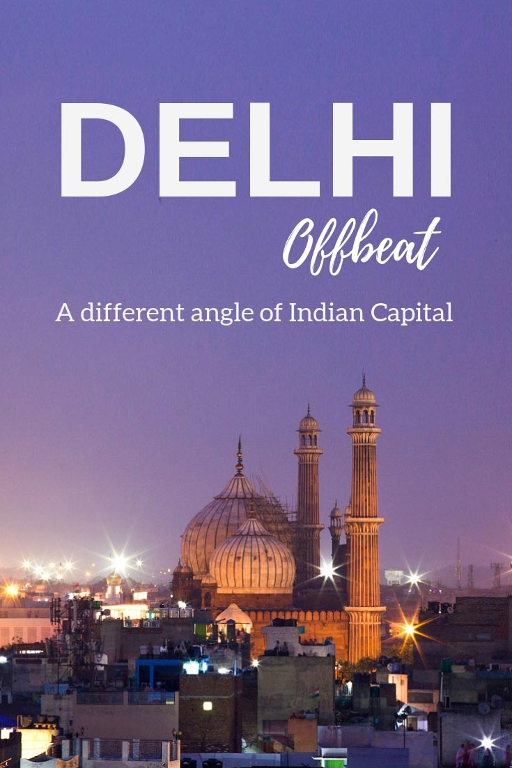 Delhi offbeat pin