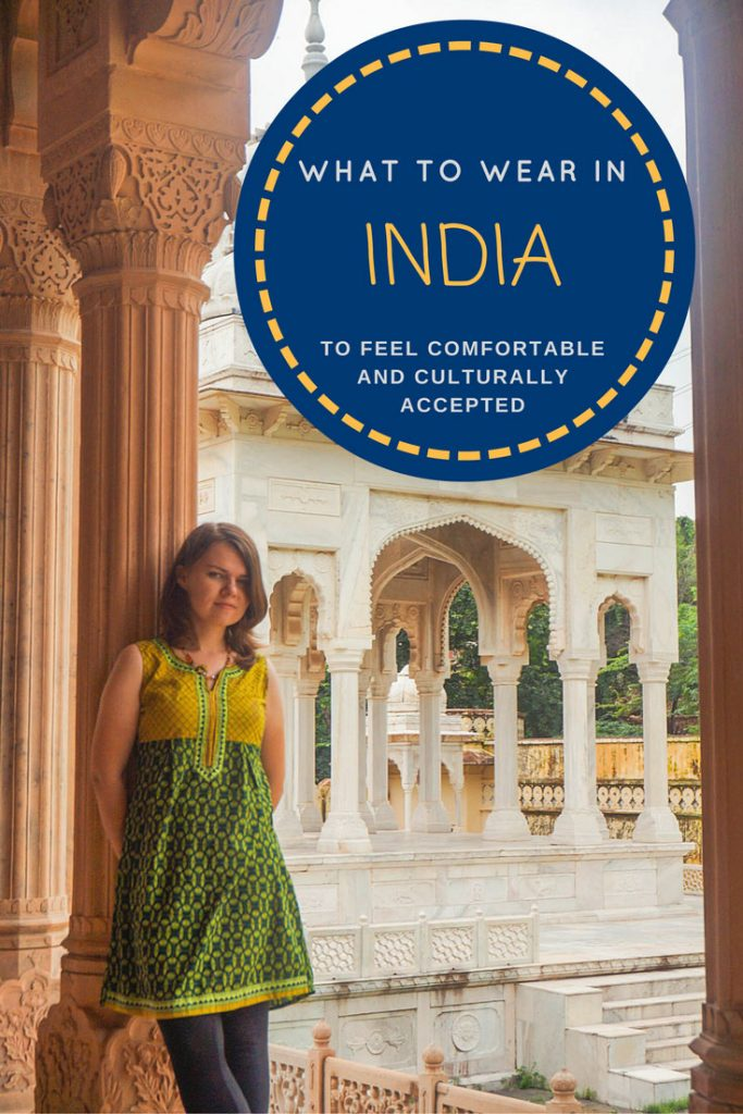 How to dress in India - guide for women. Daily outfits, clothing styles, office clothes, what to wear for functions and events and other useful tips. #India #clothing #travel