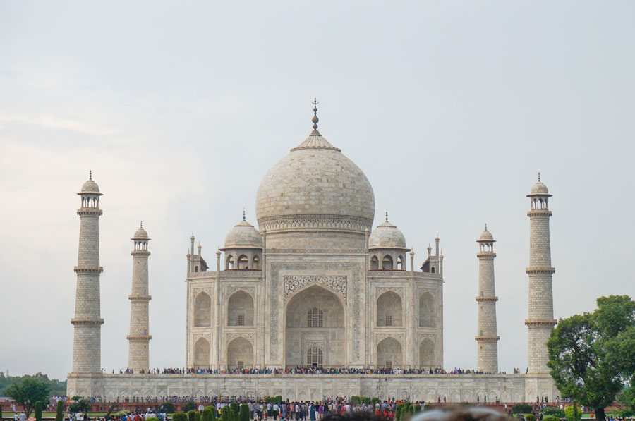 Taj Mahal in monsoons