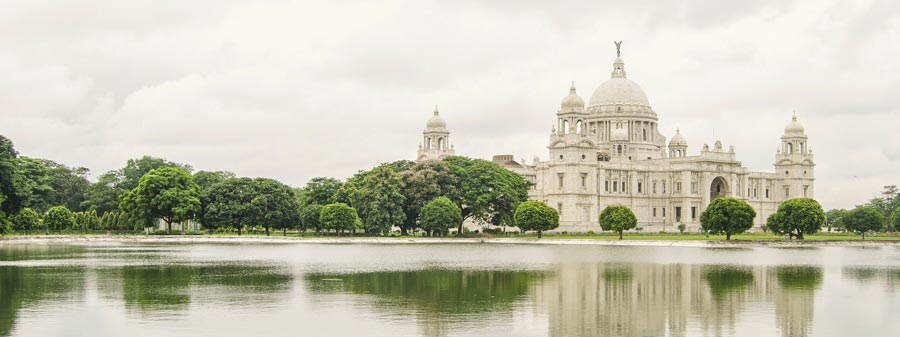 Kolkata Victoria Memorial Monsoon