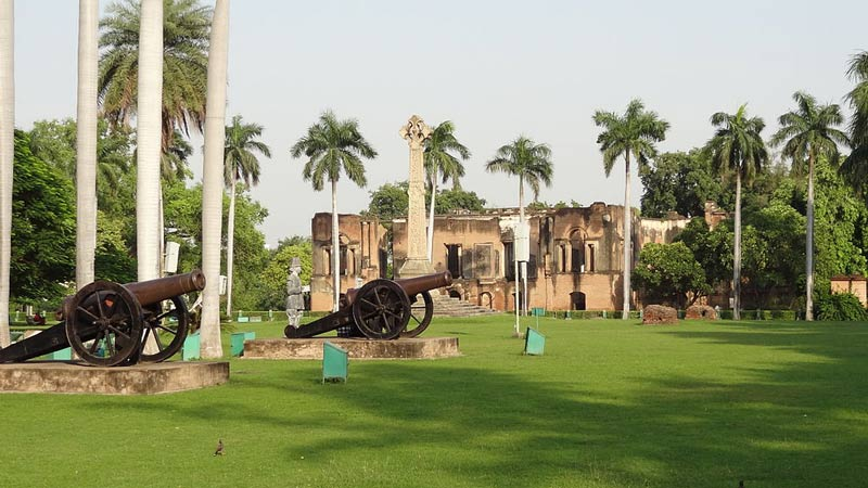 Lucknow tourism - residency of British