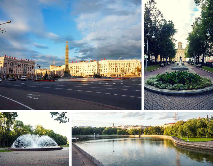 MInsk photos of the city