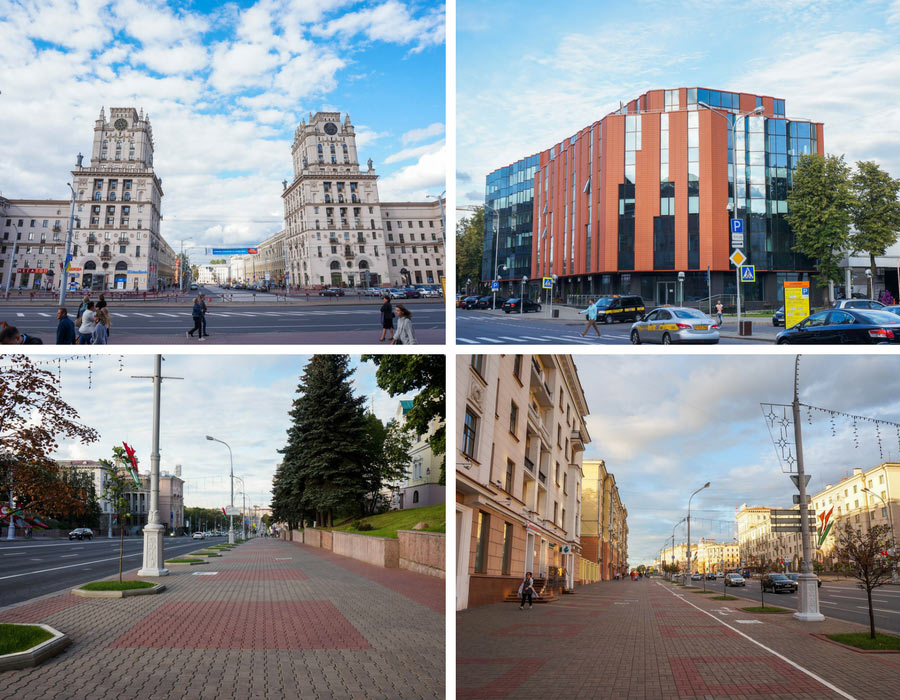 Minsk pictures of the city