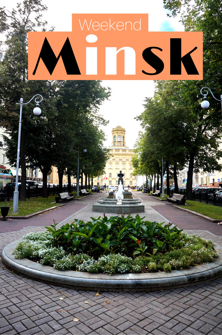 MInsk travel guide pin