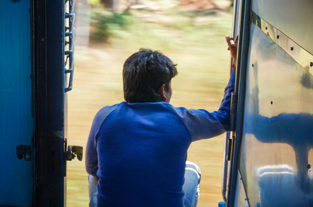Train experience in India