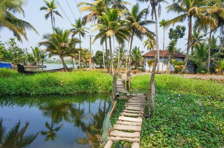 Kerala backwater village