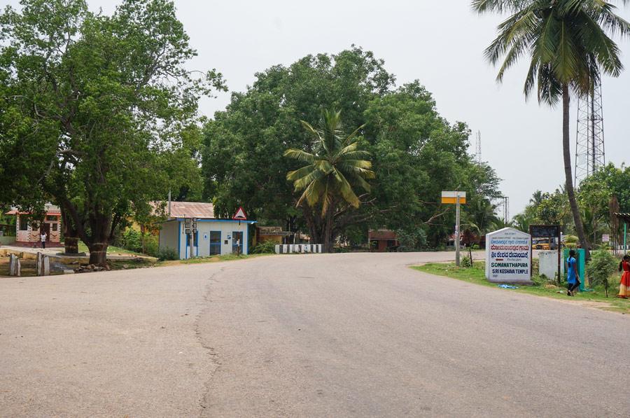 Somnathpur bus stop