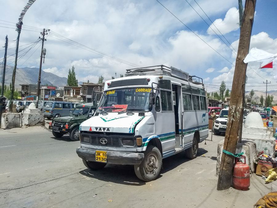 Thiksey bus