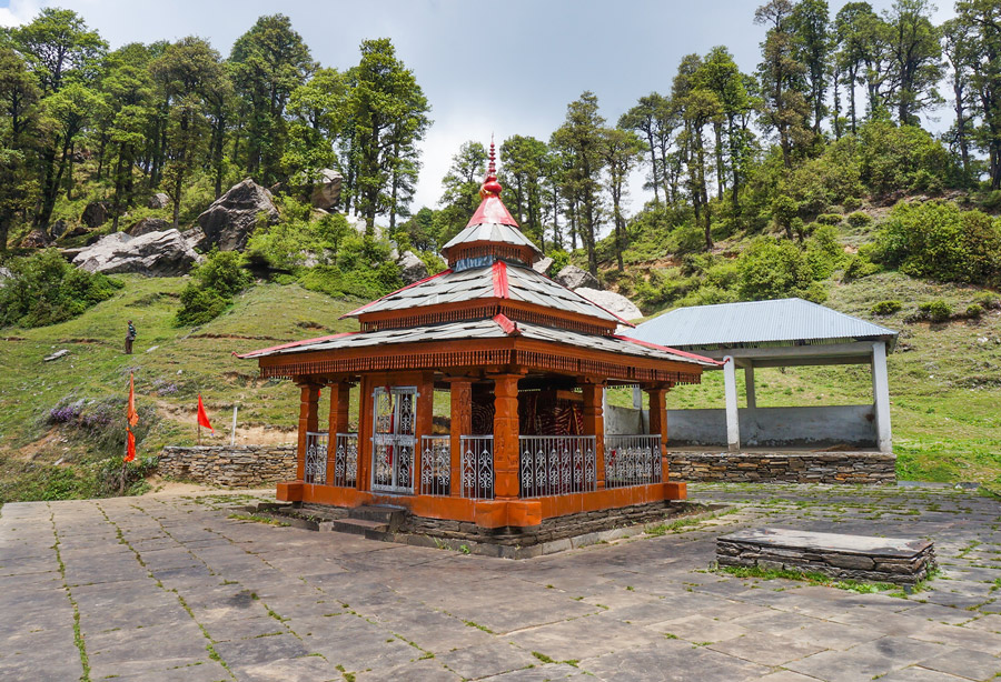 Serolsar lake temple