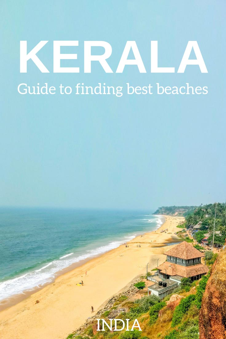 Best beaches to visit in Kerala: family friendly places, Kerala beaches for swimming, sunbathing, natural beaches in Kerala, what they are famous for and where they are. Kerala is one of the top beach destinations in India. #Kerala #India #travel