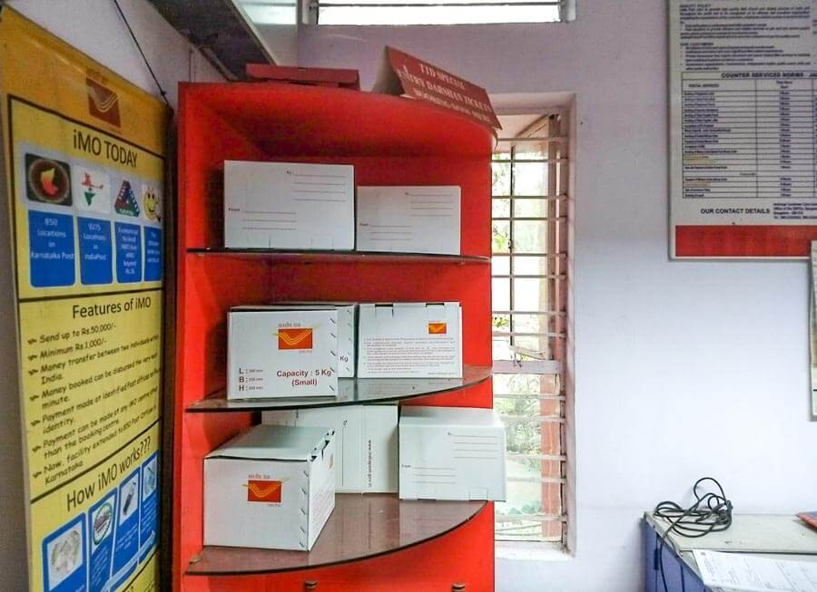 India post boxes