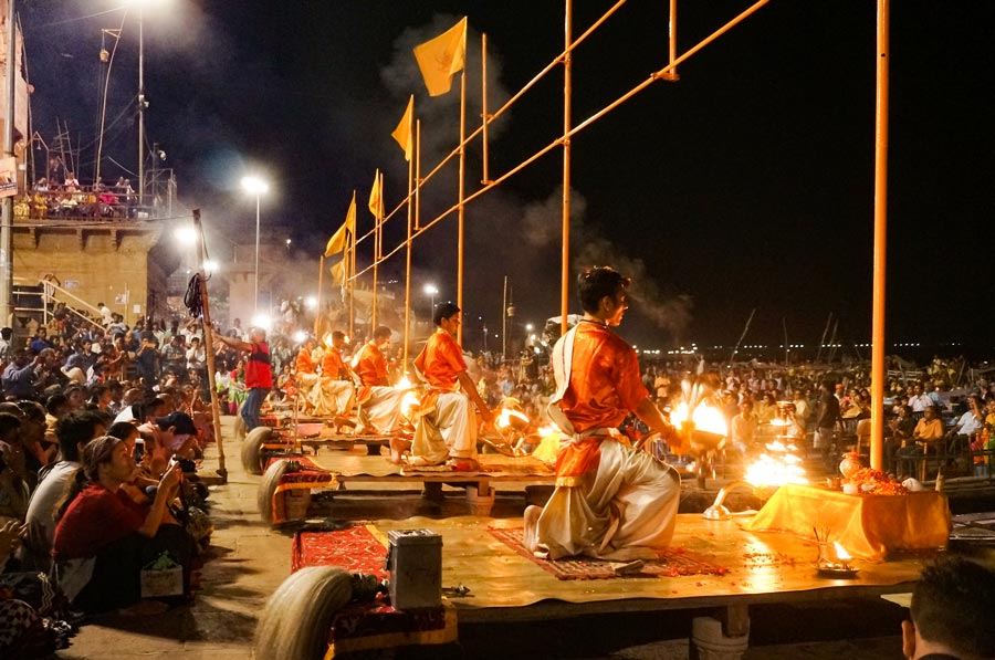 Ganga Aarti in India
