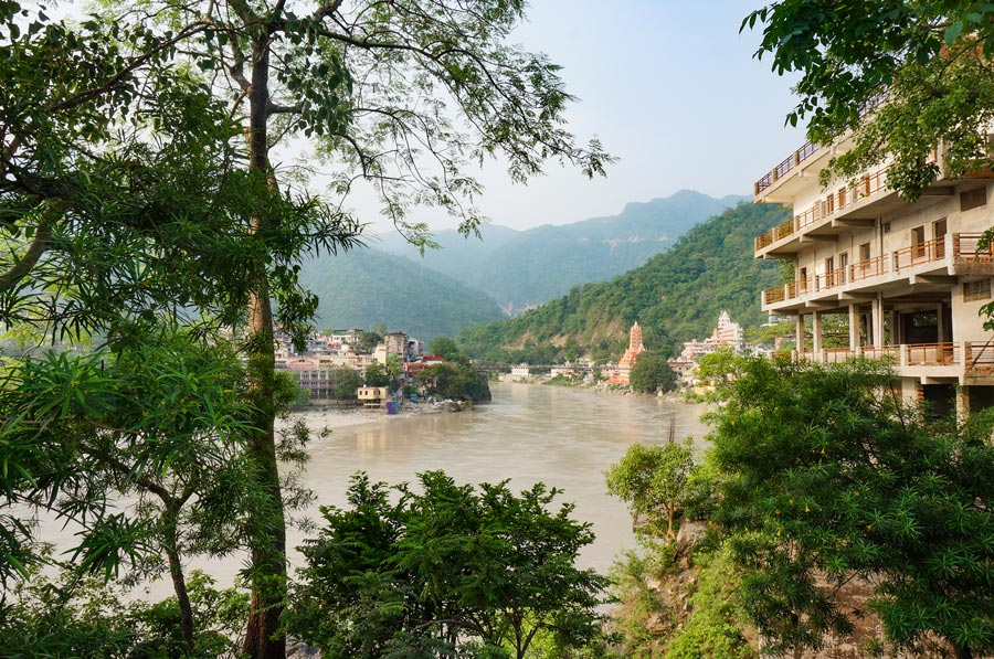 Rishikesh in monsoon
