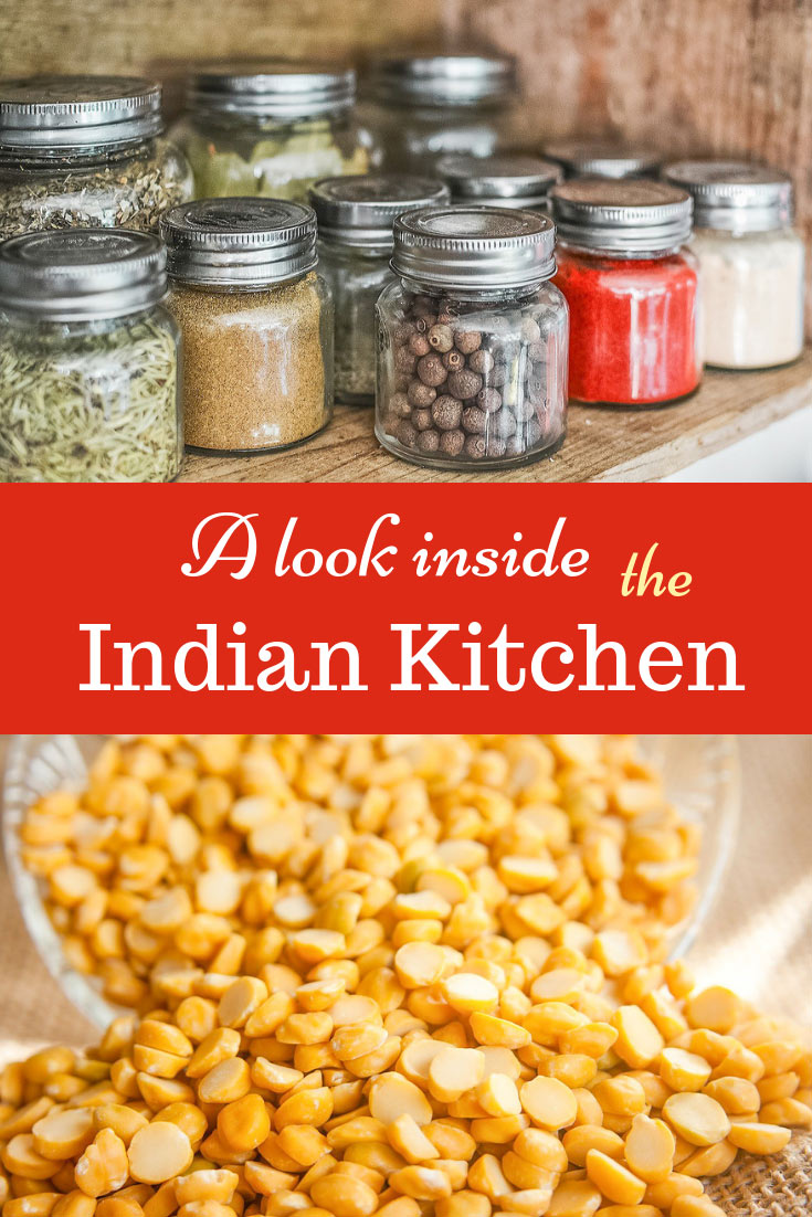 What is inside the Indian kitchen: spices, chilies, grains, utensils - let's visit a kitchen and see. An interesting experience during your India trip. #India #travel