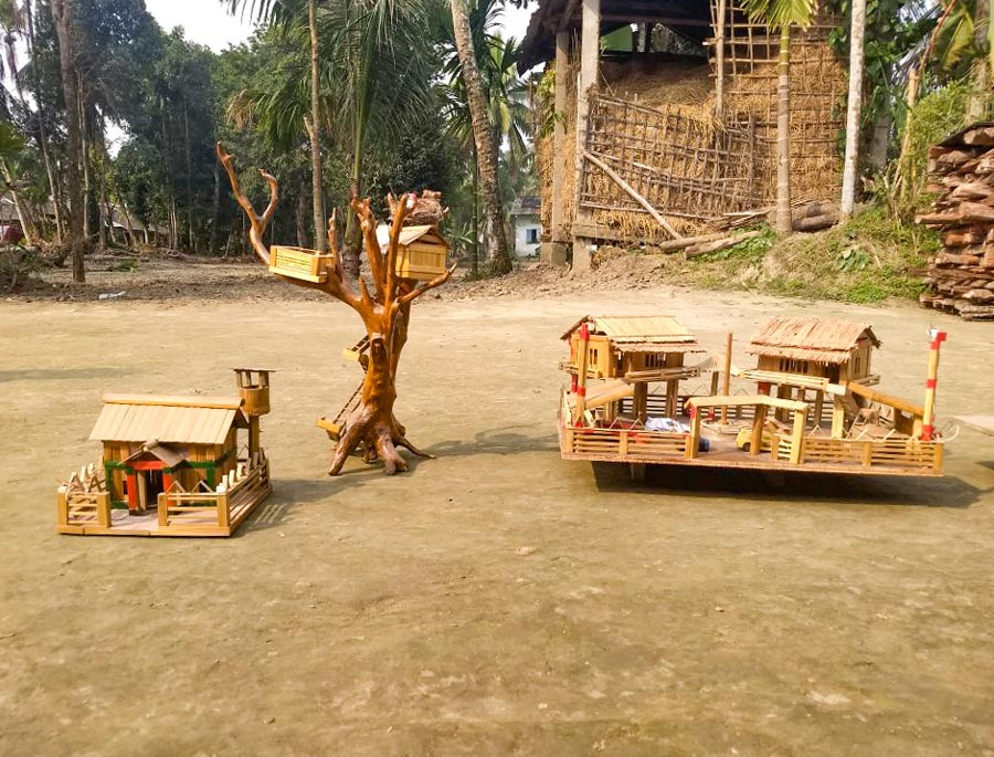 Majuli crafts